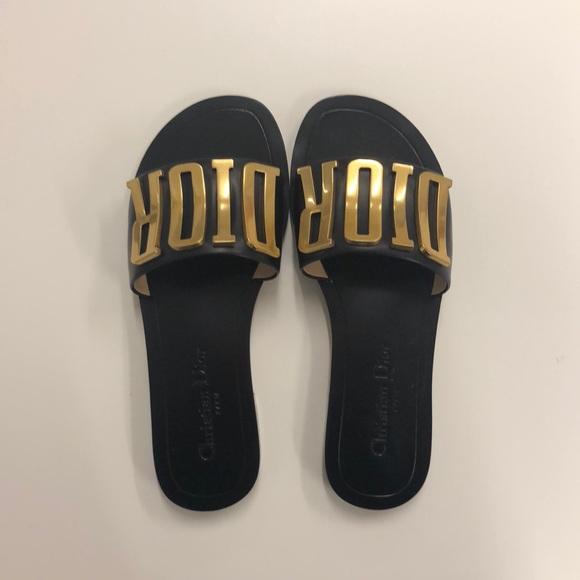 734de2ac180 Dior Shoes   Evolution Slide Sandals Bnwt   Poshmark